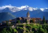Puzzle Village de montagne