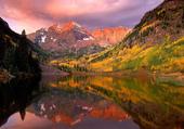 Puzzle Lever du soleil sur les trembles, Aspen
