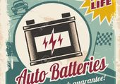publicité auto batteries