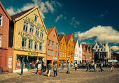 Bergen en Norvége