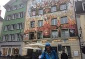 Belle façade à Lucerne