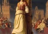 Jeanne d'arc sur le bucher