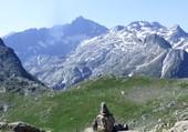le refuge Packe et pic Long - Pyrénées