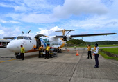 Avion à Cebu/Philippines