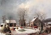 Puzzle paysage hivernal