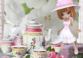 Puzzle le thé de l aprés midi