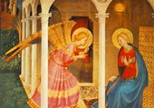 Fra Angelico, L' Annonciation, Florence.