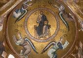 Mosaïque, Christ Pantocrator, Palerme