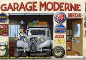 Puzzle Garage moderne