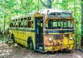 epave bus scolaire