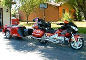1800 GOLDWING ET SA REMORQUE