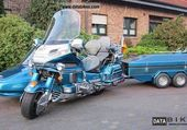 SIDE CAR GOLDWING ET REMORQUE