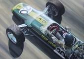Puzzle Lotus F1 années 60