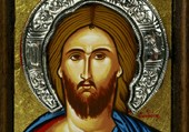 Christ, icône byzantine