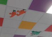 Originalité d'un plafond.