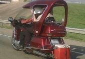 1500 GOLDWING  COUVERTE