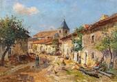 Puzzle village lorrain