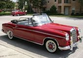MERCEDES 220S 1957