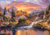 Puzzle superbe paysage