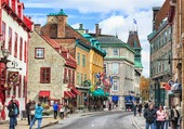 RUE SAINT LOUIS A QUEBEC
