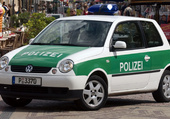volkswagen lupo polizei
