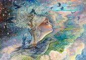 Illustration de Josephine Wall