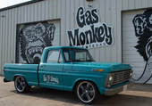 FORD F100 GAS MONKEY