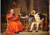 Échecs Napoléon & le Cardina J-G Vibert