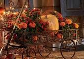 Chariot d'automne