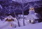 Puzzle Nuit de neige