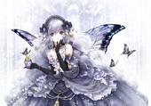 Améthyste - La jeune fille-papillon
