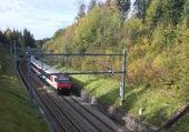 CFF / Ligne Lausanne-Berne