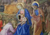 L'adoration des bergers par Fra Angelico