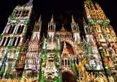 Illumination cathédrale de Rouen