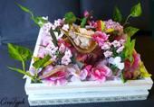 Joli gâteau de fleurs