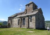 église de Bredons (Cantal) près de Murat