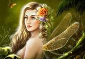 La fée libellule