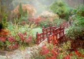 Puzzle paysage colorée