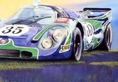 Porsche 917 gagante au Mans