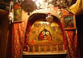 Bethléem, grotte de la Nativité
