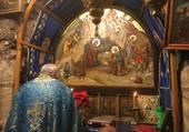 La grotte de la Nativité à Bethléem