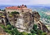 Les Météores : monastère orthodoxe
