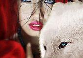 Puzzle La fille et le loup