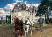 labour Château de Bourey