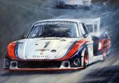 Porsche silouette
