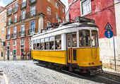 Puzzle le tram à lisbonne