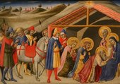 Fra Angelico, L'adoration des Mages