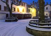 Puzzle St Jean de Luz sous la neige