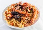 spaguettis aux fruits de mer