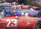 depart F1 fin Sixties